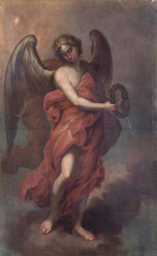 Ángel con Corona de Espinas