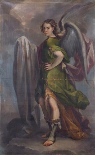 Ángel con sábana Santa