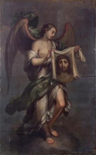 Ángel con Divino Rostro