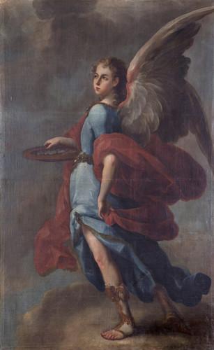 Ángel con 30 monedas