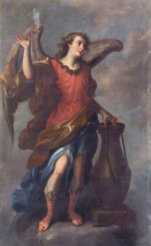 Ángel con Columna