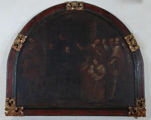 San Ignacio en Salamanca predica desde la cárcel
