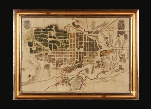 Mapa de la nobilísima ciudad de Valladolid