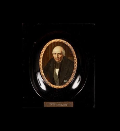 Óleo miniatura Miguel Hidalgo y Costilla