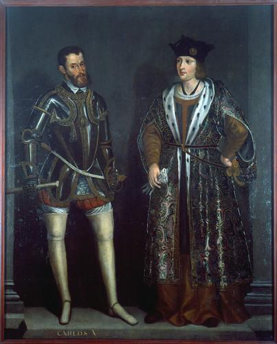Carlos I y Felipe el Hermoso