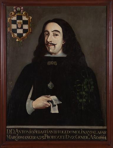 Virrey Antonio Sebastián de Toledo Molina y Salazar