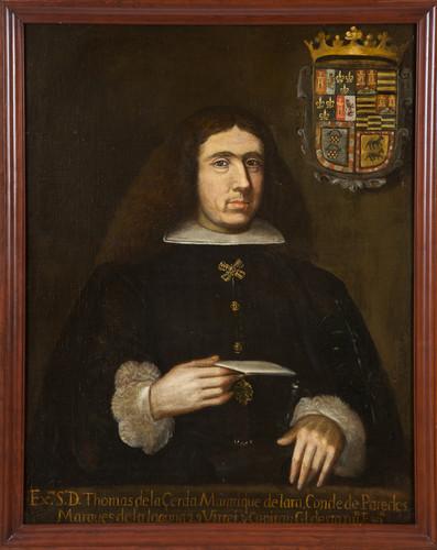 Virrey Tomás Antonio de la Cerda y Aragón
