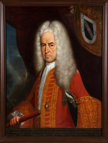 Virrey Juan de Acuña Marqués de Casa Fuerte