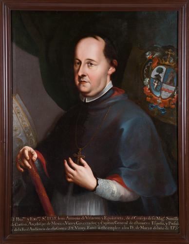 Virrey Juan Antonio de Vizarrón y Eguiarreta
