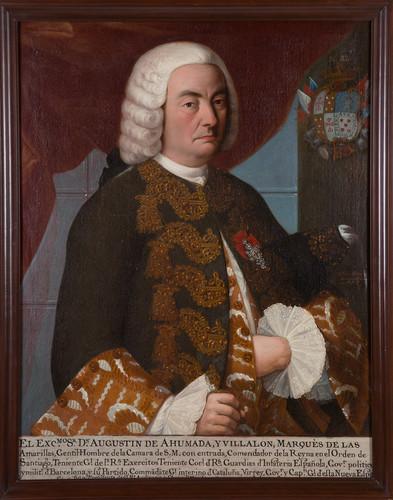 Virrey Agustín de Ahumada y Villalón