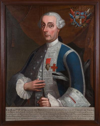 Virrey Joaquín de Montserrat