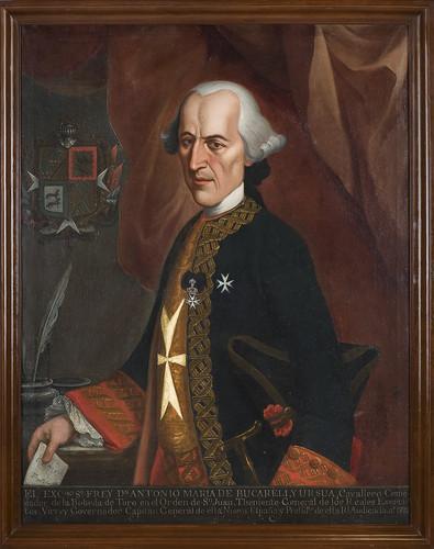 Virrey Antonio María de Bucareli y Ursúa