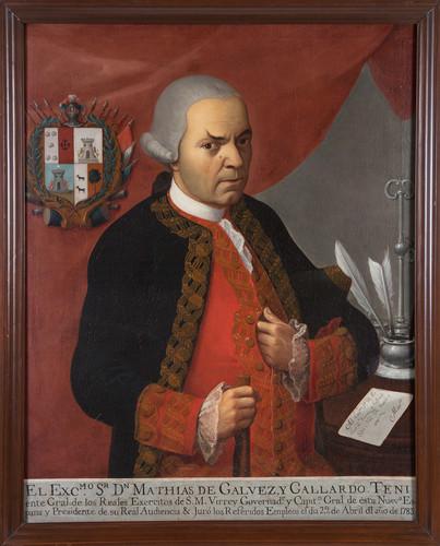 Virrey Matías de Gálvez y Gallardo