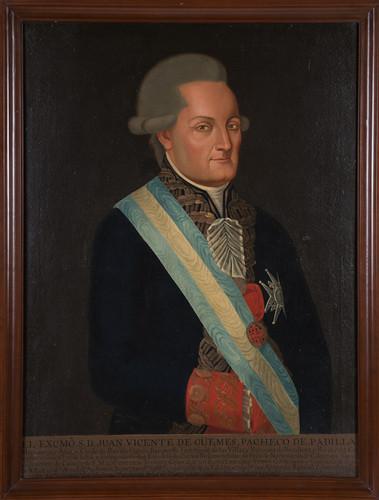Virrey Juan Vicente de Güemes Pacheco y Padilla