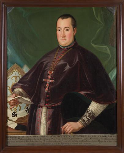 Virrey Alonso Núñez de Haro y Peralta