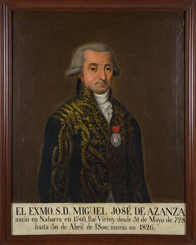 Virrey Miguel José de Azanza