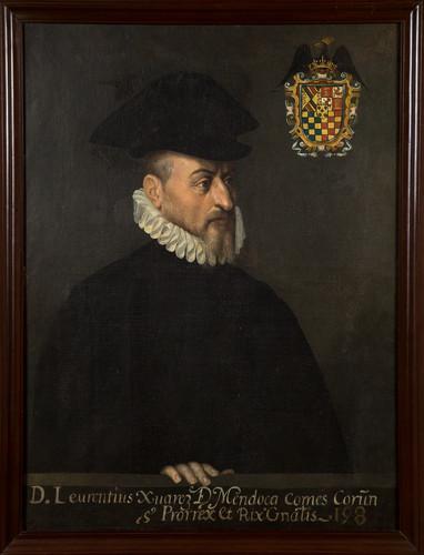 Virrey Lorenzo Suárez de Mendoza