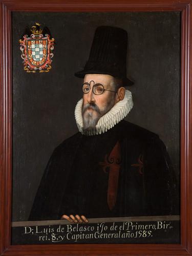 Virrey Luis de Velasco hijo