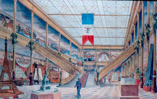 Pabellón Mexicano en Paris (interior)
