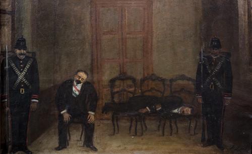 Decena Trágica. Madero y Pino Suárez prisioneros en Palacio