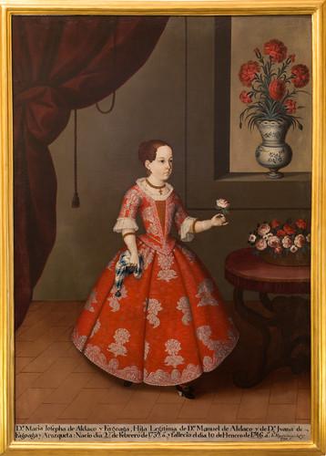 Doña María Josefa de Aldaco y Fagoaga