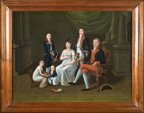 El Virrey de Iturrigaray y su familia