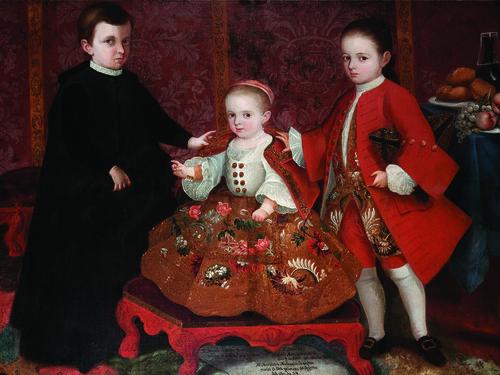Niños Miguel José, Miguel María y María Micaela Josefa Malo