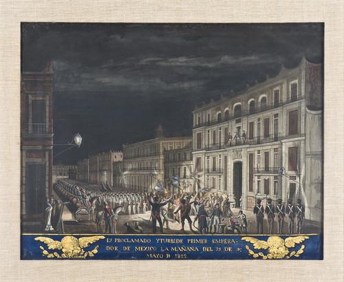 Proclamación de Agustín de Iturbide como Emperador de México