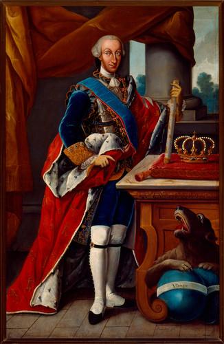 Carlos III Rey de España y de las Indias