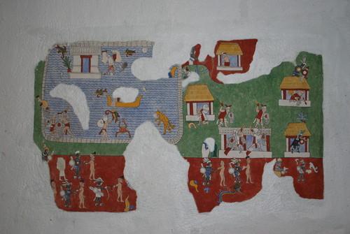 Réplica de pintura mural