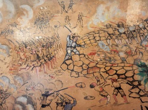 Acuarela de la Guerra de Castas