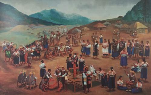 Fiesta en Tenejapa - La jerarquía religiosa