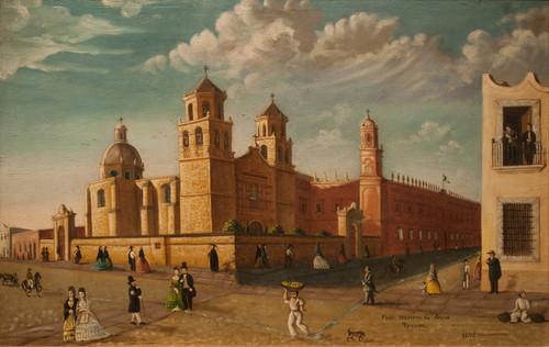 Templo la compañía y Colegio de San Nicolás