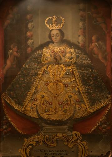 La Virgen de la Salud de Pátzcuaro