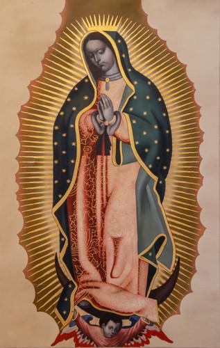 Estandarte de la Virgen de Guadalupe