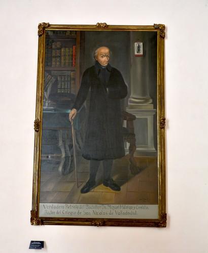 Retrato del bachiller Miguel Hidalgo y Costilla