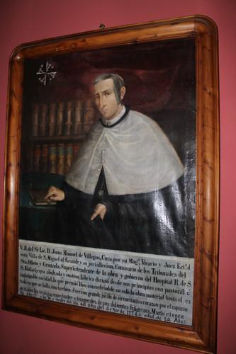Retrato del Cura Juan Manuel Villegas