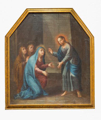 Cristo despidiéndose de su madre y de las santas mujeres