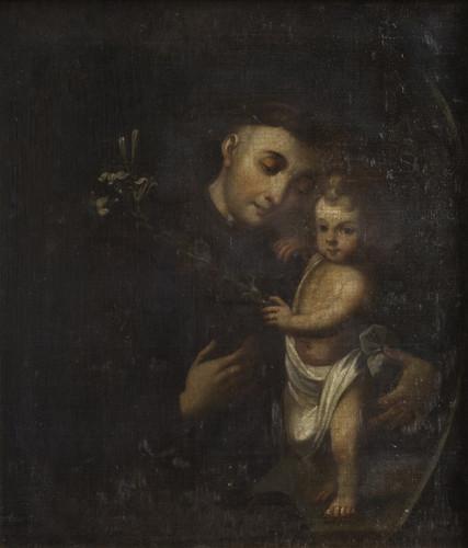 San Antonio y el Niño