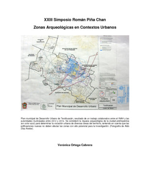 Protección Técnica en Teotihuacán