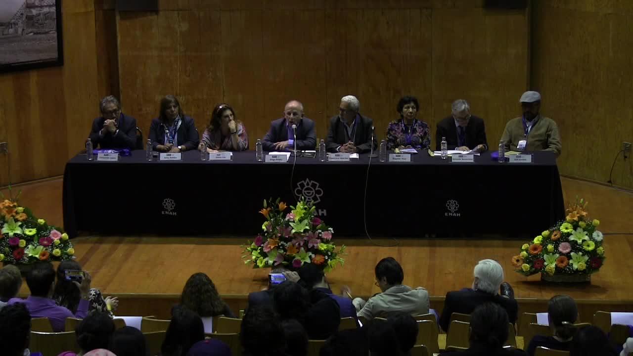 Inauguración del XXIII Simposio Román Piña Chan. Zonas Arqueológicas en Contextos Urbanos