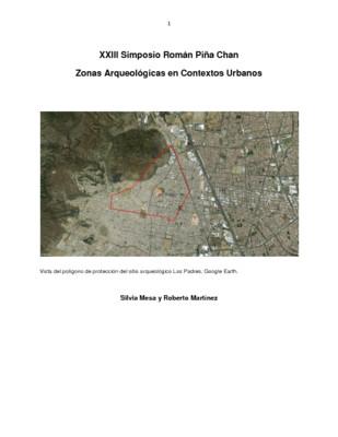 La praxis académica en la decisión sobre la delimitación de los sitios arqueológicos