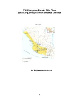 El salvamento arqueológico en la zona conurbada de Colima-villa de Álvarez, valle de Colima