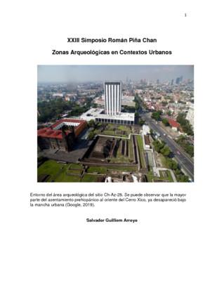 La Zona Arqueológica de Tlatelolco y su entorno social