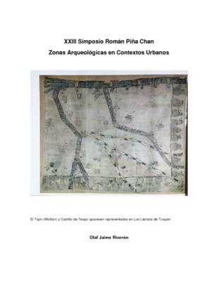 La comparación de dos historias de sitios arqueológicos: Castillo de Teayo y El Tajín