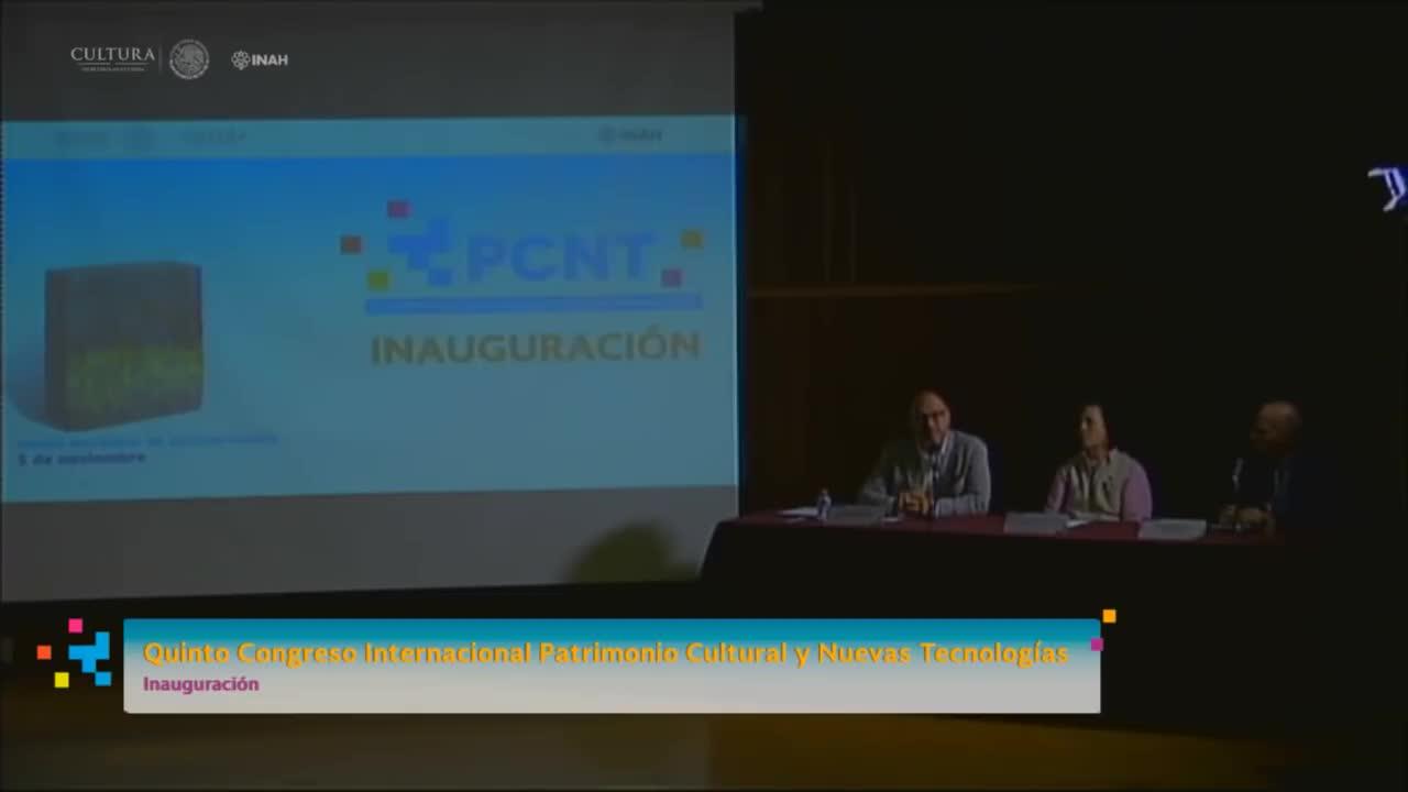Quinto Congreso Internacional Patrimonio Cultural y Nuevas Tecnologías - Inauguración