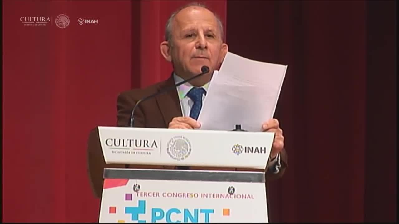 Inauguración del Tercer Congreso Internacional El Patrimonio Cultural y las Nuevas Tecnologías