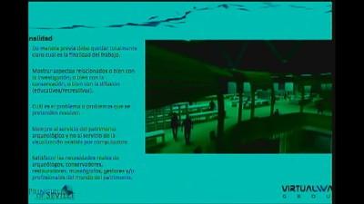 Mesa 2. Arqueología virtual