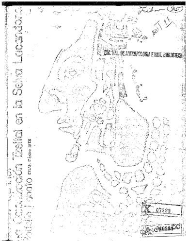 La colonización tzeltal en la Selva Lacandona