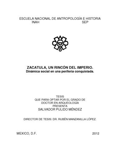 Zacatula, un rincón del imperio. Dinámica social en una periferia conquistada